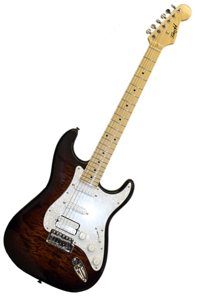 Strat SSH Tigers eye :