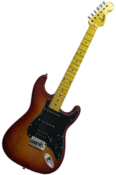 Strat SSH Cherry Sunburst :
