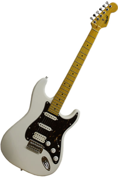 Strat SSH White Turtle :