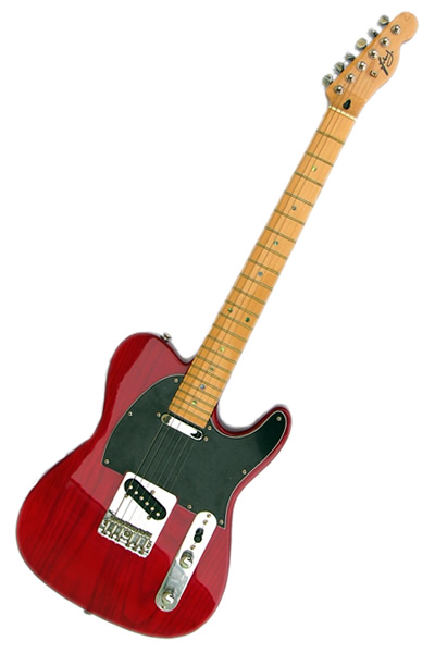Tele Transparent red :