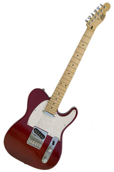 Tele  Red / wh :